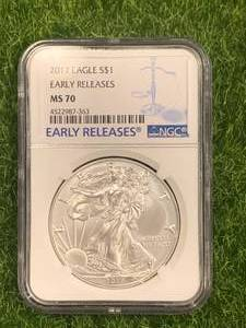2017 .999 American Silver Eagle MS70 (early release)