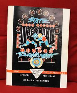 1991 Minnesota State High School Wrestling Official Program