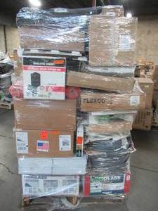 WHOLESALE MIXED PALLET OF MISCELLANEOUS ROOFING AND COMMERICAL SUPPLIES!