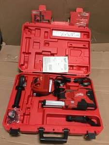Milwaukee M12 12-Volt Lithium-Ion Cordless HammerVac Universal Dust Extractor Kit  in good condition review pictures