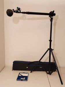 Professional Mic Sound Boom by ARRI with Mic & carrying case