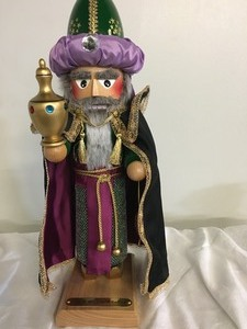 "Steinbach Nutcracker ""Melchior"" ( One of the 3 Wisemen in Lots 99 and 100)"