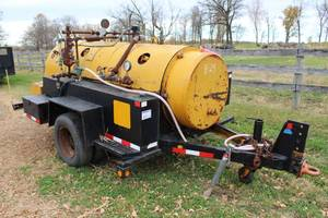 Cleaver Brooks CB Packaged Boiler PSM50 4-Wheel Single-Axle Pull Trailer with Briggs & Stratton Industrial/Commercial Cast Iron Bore 10hp Motor