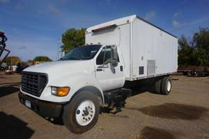 2000 Ford F-650 Box Truck With Sewer/Septic Inspection Equipment & Software