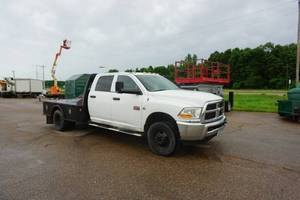 2011 Dodge 3500 HD Extended Cab Dually Flatbed Truck