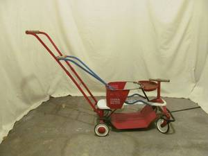 Antique child's stroller