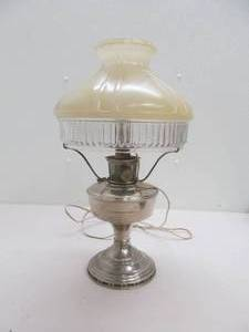 Vintage Aladdin oil electric lamp