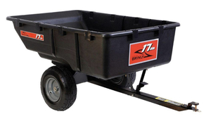 BRINLY-HARDY 17 cu. ft. 850 lb. Tow-Behind Poly Utility Cart.