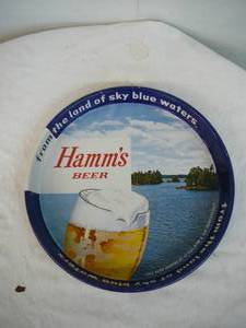 Vintage Hamms Serving Tray