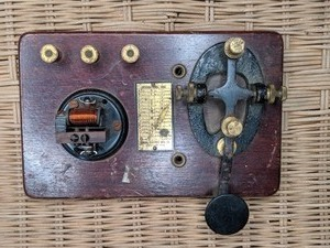 Vintage Signal Electric Telegraph Key