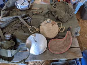 Military Travel Bag With Meal Kit, ...