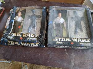 "(2) Star Wars Action Collection ""Ha..."