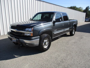 2005 Chevy 1500HD with Boss V Plow