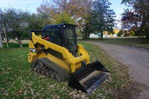 2014 Cat 257D Multi Terrain Tracked Skid Loader Skid Steer