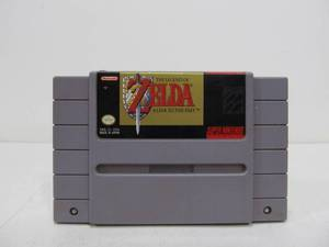Zelda a Link To The Past - Super Nintendo