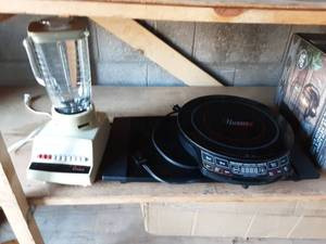 Nuwave II Induction Cook Top, Blender & Hot Plate