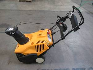 "Cub Cadet 1X 21 in. 208 cc Single-Stage Electric Start Gas Snow Blower with Remote Chute Control and Headlight 1X 21"" LHP"