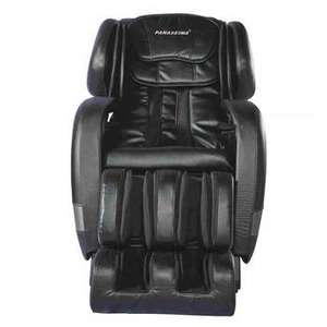 WELDER'S DREAM!  Helios Intelligent Luxury Massage Chair in Black, PSM-1003G - Broken Hinge On Footrest