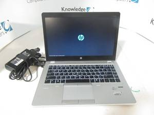 HP EliteBook Folio 9470m Intel(R) Core(TM) i7-3687U CPU @ 2.10GHz 8GB RAM 256GB HD  AC Power included