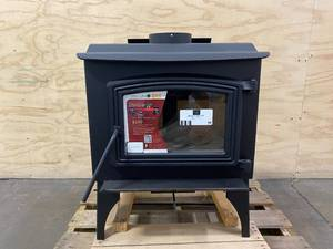PLEASANT HEARTH 1200-sq ft Heating Area Firewood and Fire Logs Stove
