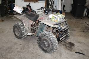 Yamaha Timberwolf 4-Wheeler ATV, Badland Winches 2500lb. ATV Utility Winch with Remote Control
