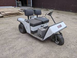 Vintage EZ-GO Electric Golf Cart