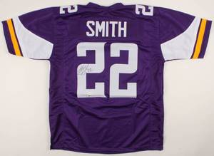 Harrison Smith Signed Vikings Purple Jersey (Beckett COA & TSE Hologram)
