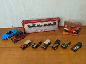 Lot of Die Cast Metal Classic Car Toys