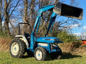 1988 Ford 2120 Diesel Tractor With Loader