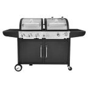 ROYAL GOURMET 3-Burner Propane Gas and Charcoal Combo Grill!!! SEE PICS!