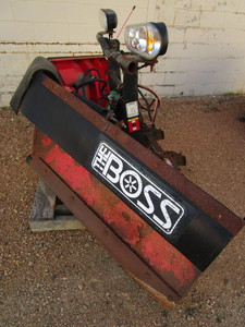 "THE BOSS ""V"" SNOWPLOW ATTACHMENT"