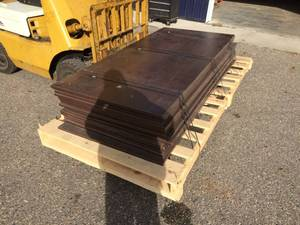 (19) New Plywood Sheets with Dark Veneer