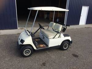 1998 G16A Yamaha Gas Golf Cart