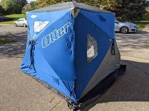 Otter XTH Pro Lodge 4-5 Person Thermal Ice Shelter
