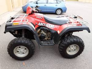 2004 Arctic Car 4-Wheeler 4X4