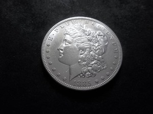 1885 S Morgan Silver Dollar