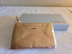 Lodis clutch and card holder