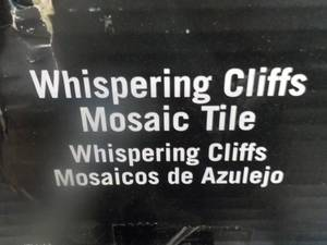 1 Carton Whispering Cliffs Mosaic T...