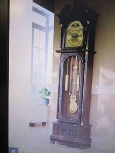 Westminster Grandfather Clock open ...