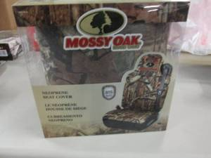 Mossy Oak Neoprene Seat Cover...