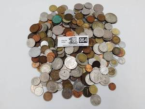Lot of Foreign Coin from around the World.