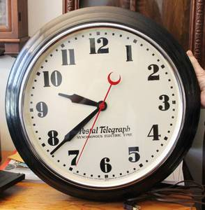 Postal telegraph Wall Clock