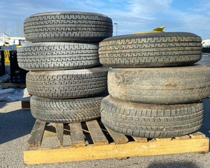 Pallet of Wheels ST235/80R16