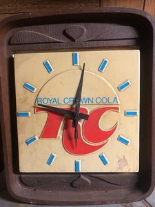 Vintage RC Cola Clock