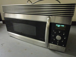 GE PROFILE ADVANTUM 120 ABOVE-THE-COOKTOP MICROWAVE OVEN