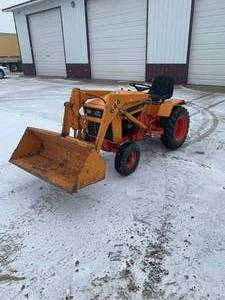 1970's J.L. Case 644 Tractor