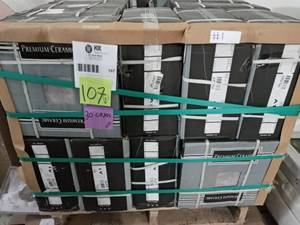 Pallet with 30 cases Lismori Grigio 12 in. x 12 in. Matte Ceramic Floor and Wall Tile (20.37 sq. ft. / case)