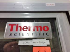 WOW ONE JUST SOLD ONLINE FOR $2500 - THERMO REVCO DOUBLE SELF CLOSING DOORS 4°C LABORATORY COMMERCIAL GRADE REFRIGERATOR - REL4504A22 - EXCELLENT WORKING CONDITION! COMES WITH ORIGINAL OPERATION MANUAL! 57x34x78""