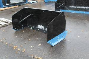 6' Snow Pusher (Skid Steer Attachment)