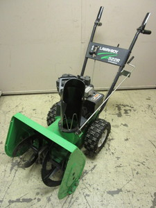 "LAWN-BOY SNOW BLOWER, WITH 22"" CLEARING WIDTH"